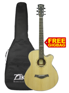 Natural Curve Acoustic Guitar