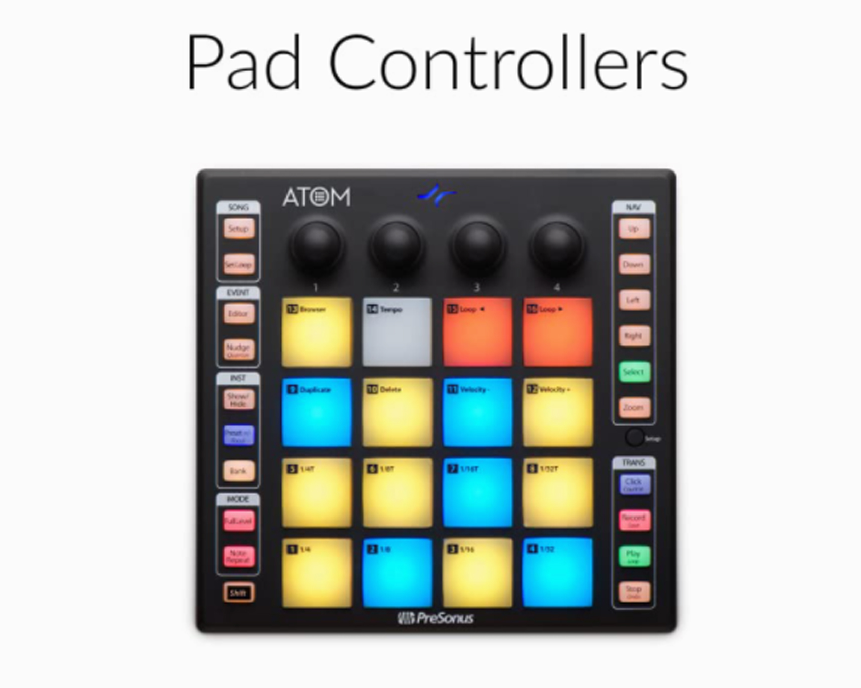 Pad Controllers